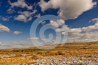 Irish landscape - The Burren