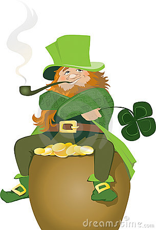 Free Irish Leprechaun Stock Image - 11166101