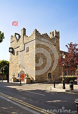 Free Irish Medieval Castle At Dalkey Royalty Free Stock Photos - 10941108