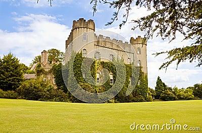 Irish medieval castle at Malahide, Dublin