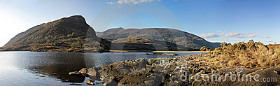 Irish mountains pano