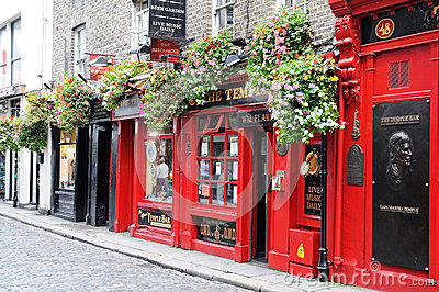 Irish pub Editorial Stock Photo