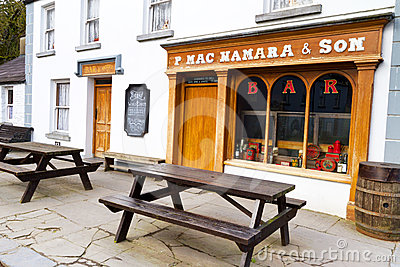 Irish pub in Bunratty Editorial Photography