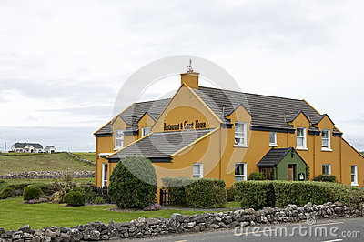 Irish restaurant and guest house