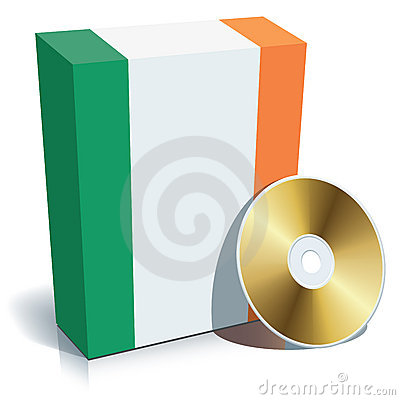 Irish software box and CD