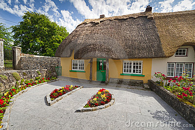 Irish traditional house