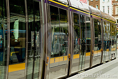 irish tramway luas