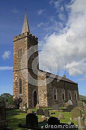 Northern Ireland, County Antrim: Village Church
