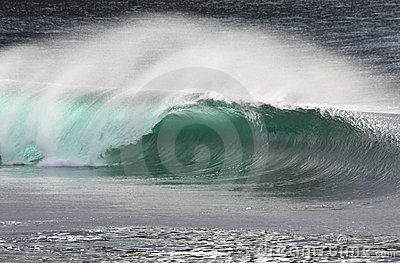 Irish Wave Breaking