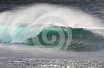 Irish Wave Breaking