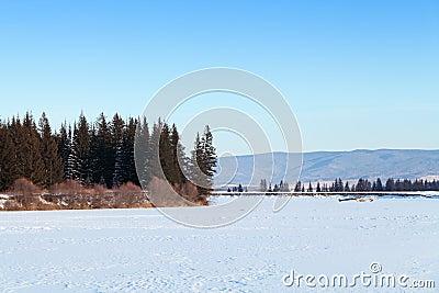 The Irkut river