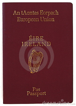 Irländskt pass