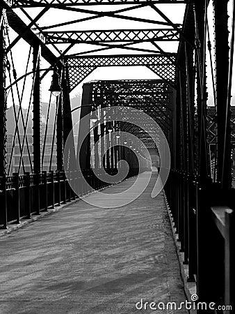 Free Iron Bridge In Pittsburgh Stock Images - 28595274