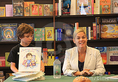 Iron Chef Cat Cora Book Signing Editorial Photography