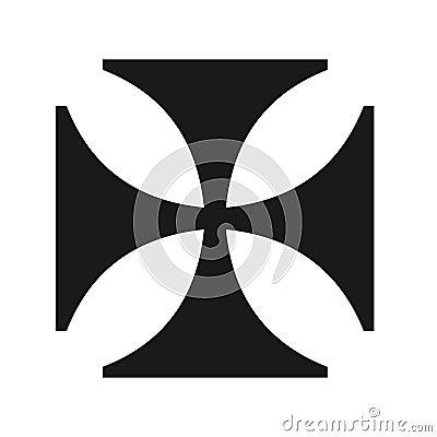 Iron cross symbol