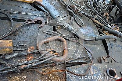 Iron detail background
