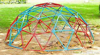 Iron Dome in the playground