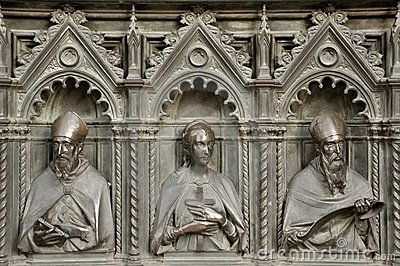 Iron door detail in Florence, Italy