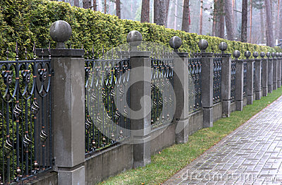 Painted Gates And Fences