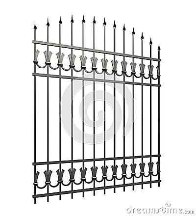 Free Iron Fences Royalty Free Stock Photos - 34738818