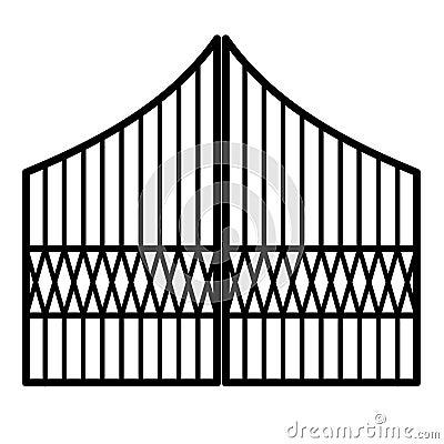 Free Iron Gate Royalty Free Stock Photos - 6701728