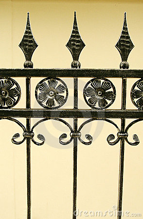 Free Iron Gate Details Stock Photos - 4882153