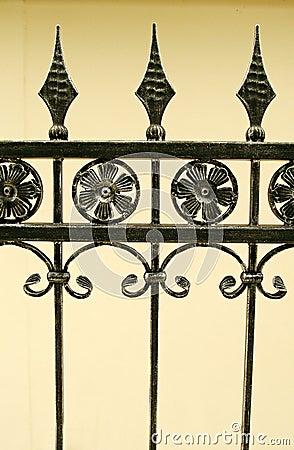 Iron gate details