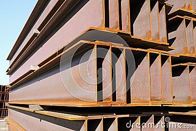 Iron girder