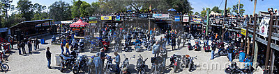Iron Horse Saloon - Daytona Bike Week Editorial Photo