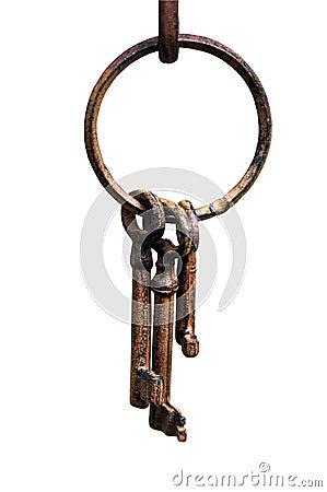 Iron klucza pierścionek