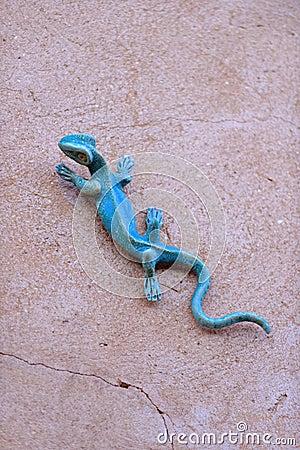 Free Iron Lizard Stock Photo - 42365970