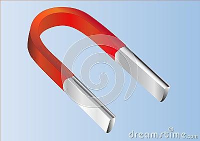 Iron magnet.