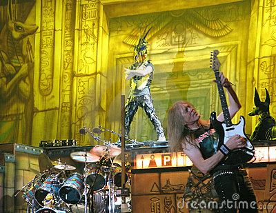 Iron Maiden on tour -  Editorial Photography