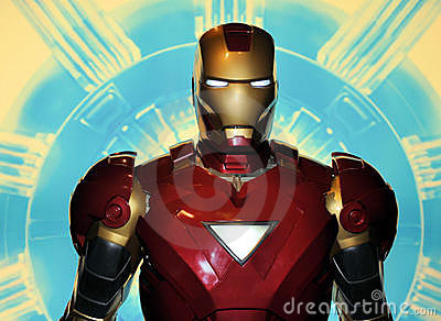 Iron Man Editorial Stock Image