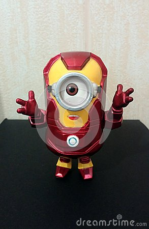 Iron Man Minion Editorial Stock Photo