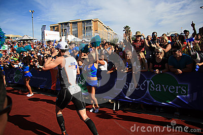 Iron man 2013 winner Editorial Stock Photo