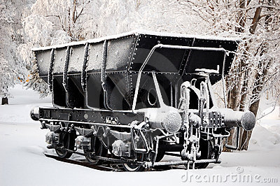 Iron ore wagon