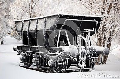 Iron ore wagon
