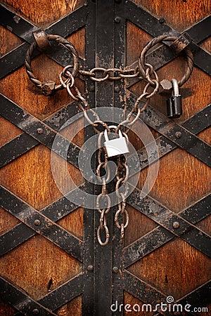 Iron padlock