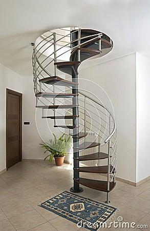 Free Iron Snail Stair Royalty Free Stock Image - 5933836