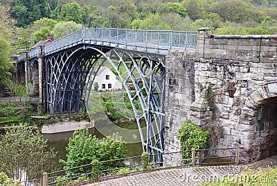 The Ironbridge in Shropshire