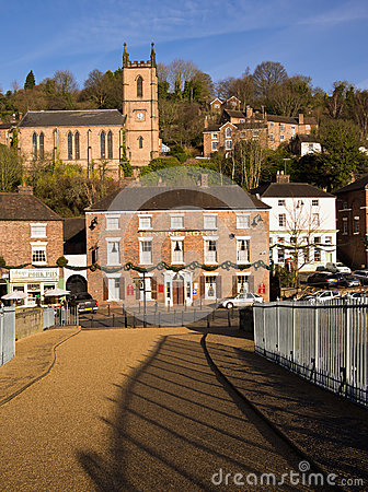 Ironbridge World Heritage Town,  England Editorial Photo