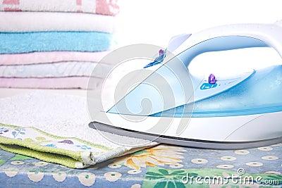 Ironed Laundry