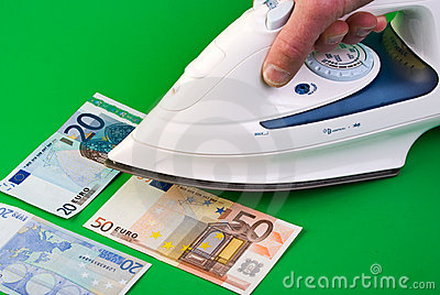 Ironing money