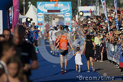 Ironman 2013 edition,Nice,France Editorial Photo