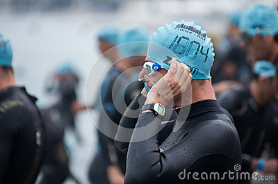Ironman 2013 edition,Nice,France Editorial Photography