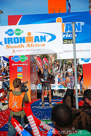 Ironman South Africa 2008 Editorial Image
