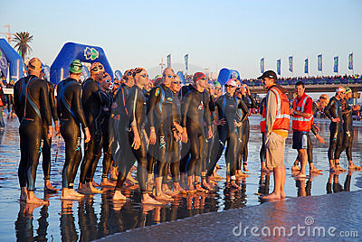Ironman South Africa 2010 Editorial Photo