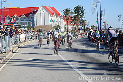 Ironman South Africa 2010 Editorial Stock Image