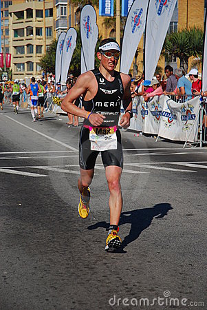 Ironman South Africa 2010 Editorial Stock Photo